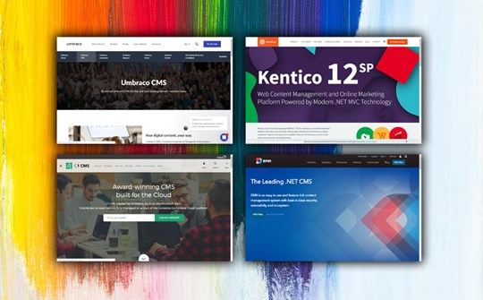 What is the Best .NET CMS - Umbraco, DotNEtNuke, Kentico or Composite C1