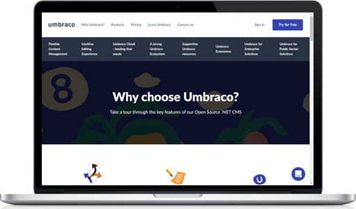 Why Umbraco?  Umbraco development with .NET